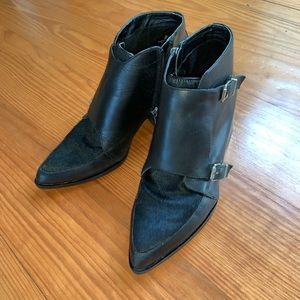 Sam Edelman Shoes - Sam Edelman Circus Black Leather Boots sz 8.5